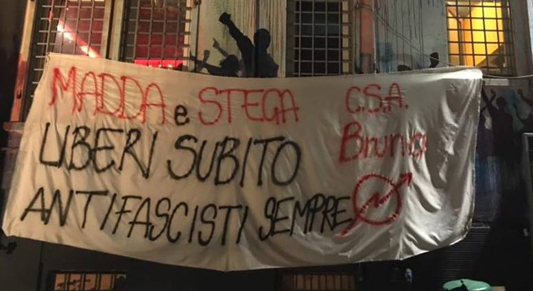 L'Antifascismo non si arresta!