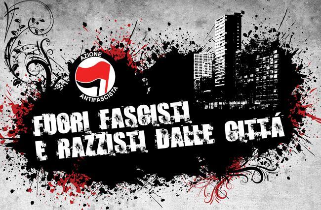 Fuori i fascisti dalle città!
